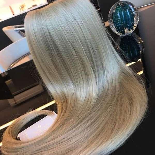Естествена коса на треса - Среден клас 55см/100гр