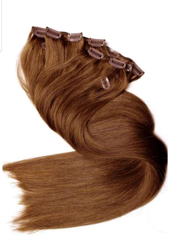 Естествена коса на треса - Среден клас 45см/100гр