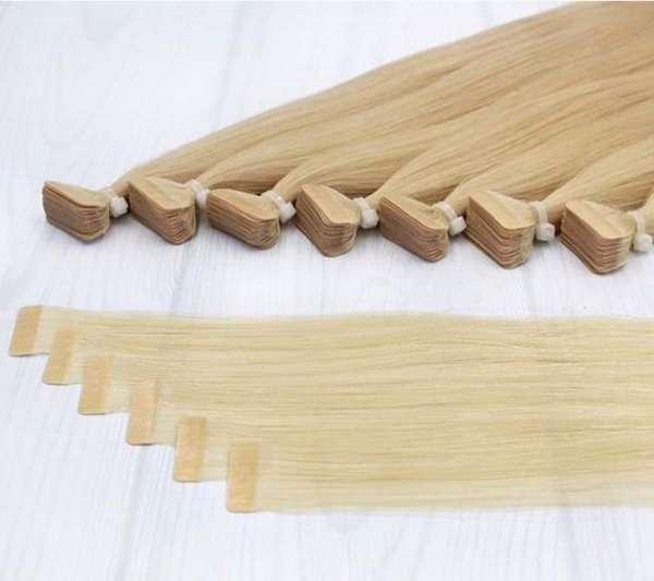 Коса с залепване(стикери) 50/55см